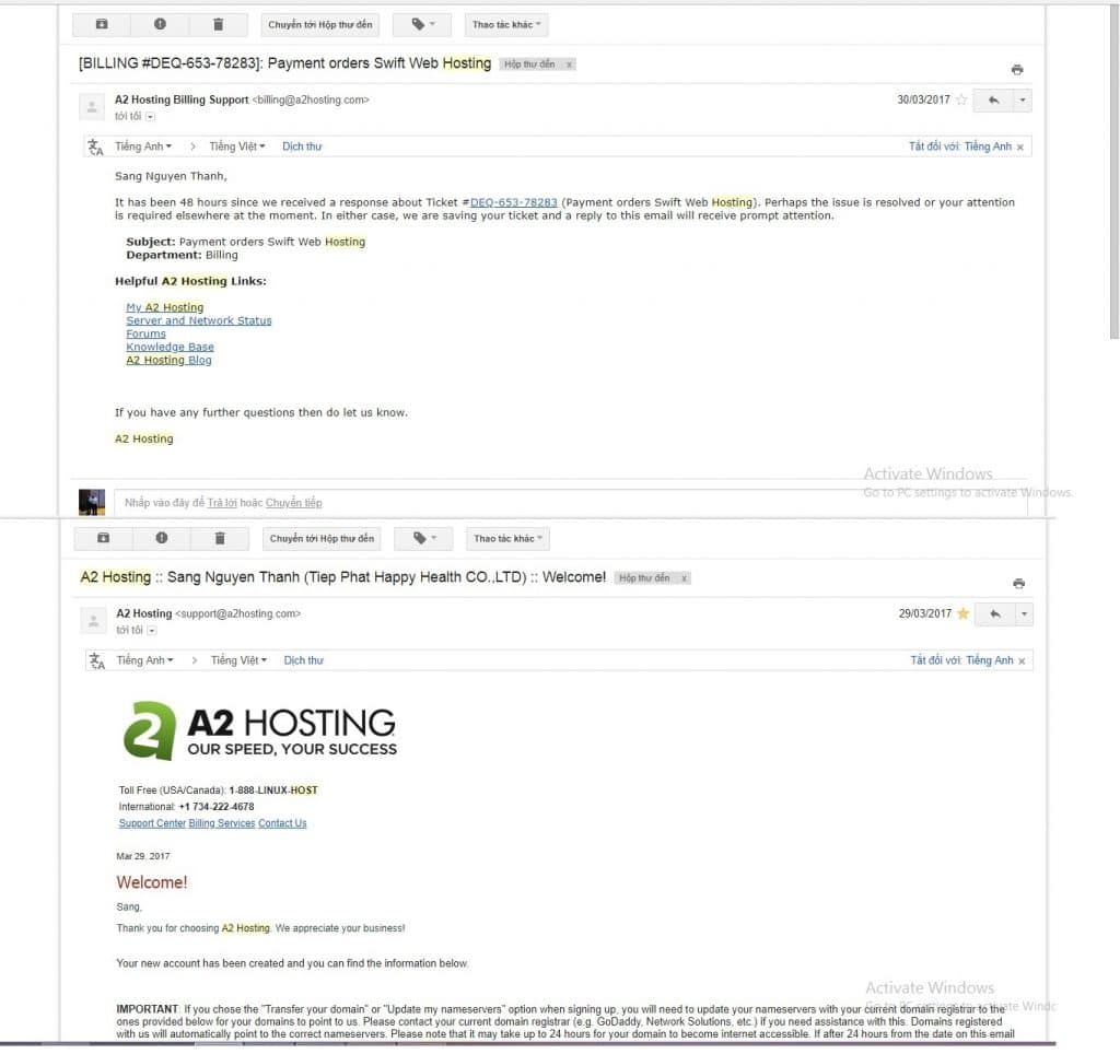 Hướng dẫn mua A2 Hosting chi tiết từ A-Z cho người mới bắt đầu 9