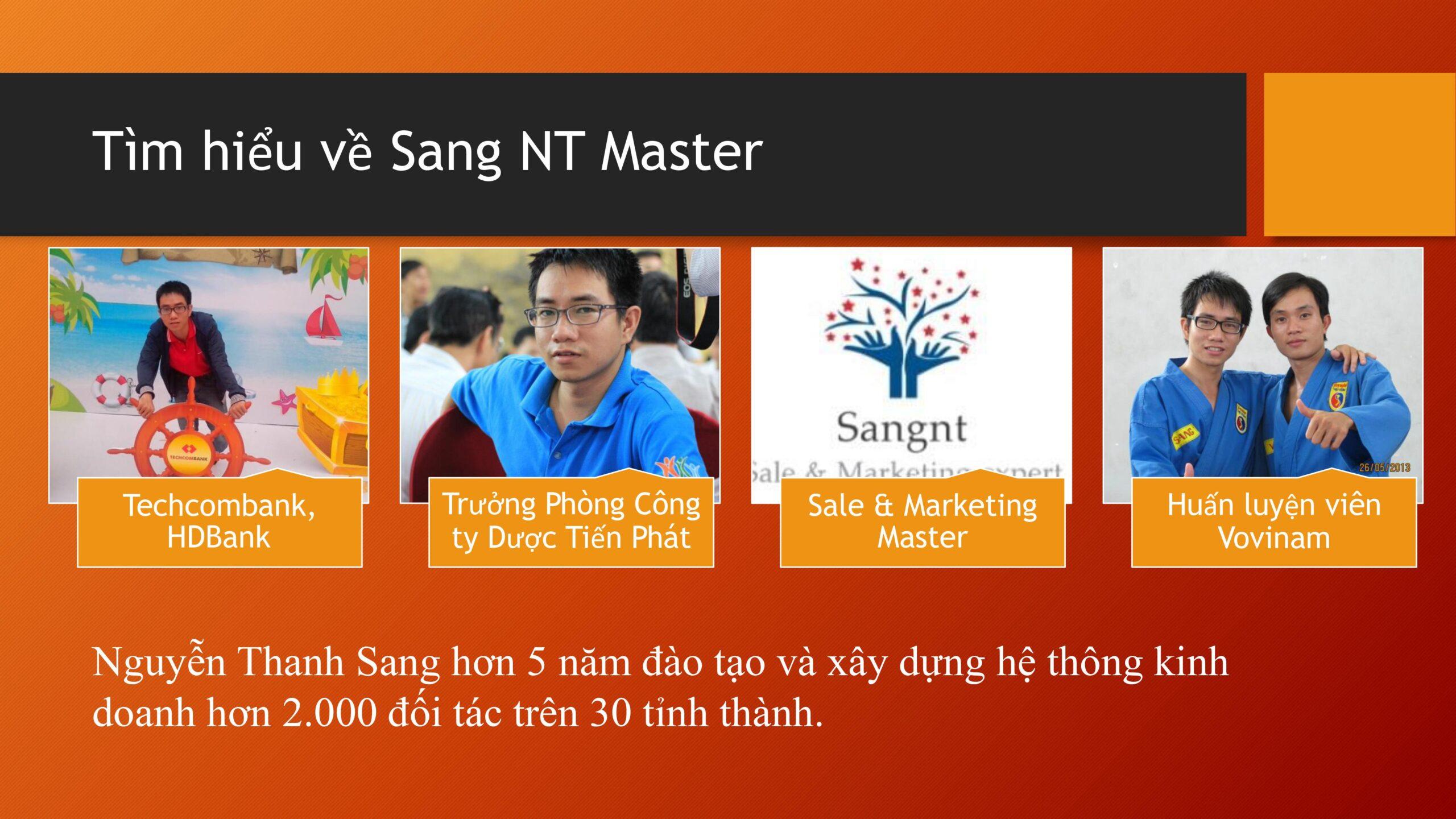 Tìm hiểu về Sang NT Master